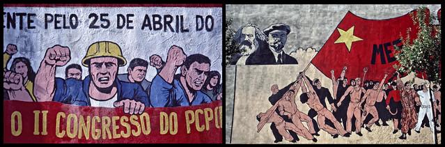 Lisboa - Murals of the Revolução dos Cravos (1977)