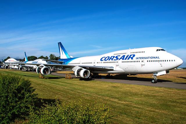 F-HSEA | Boeing 747-422 | Corsair