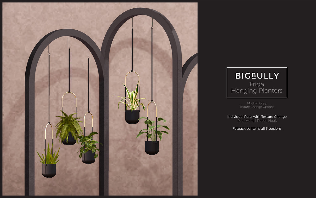 BIGBULLY Frida Hanging Planters – Summerfest