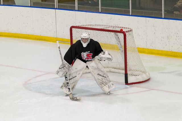 Nephew Hockey Goalie