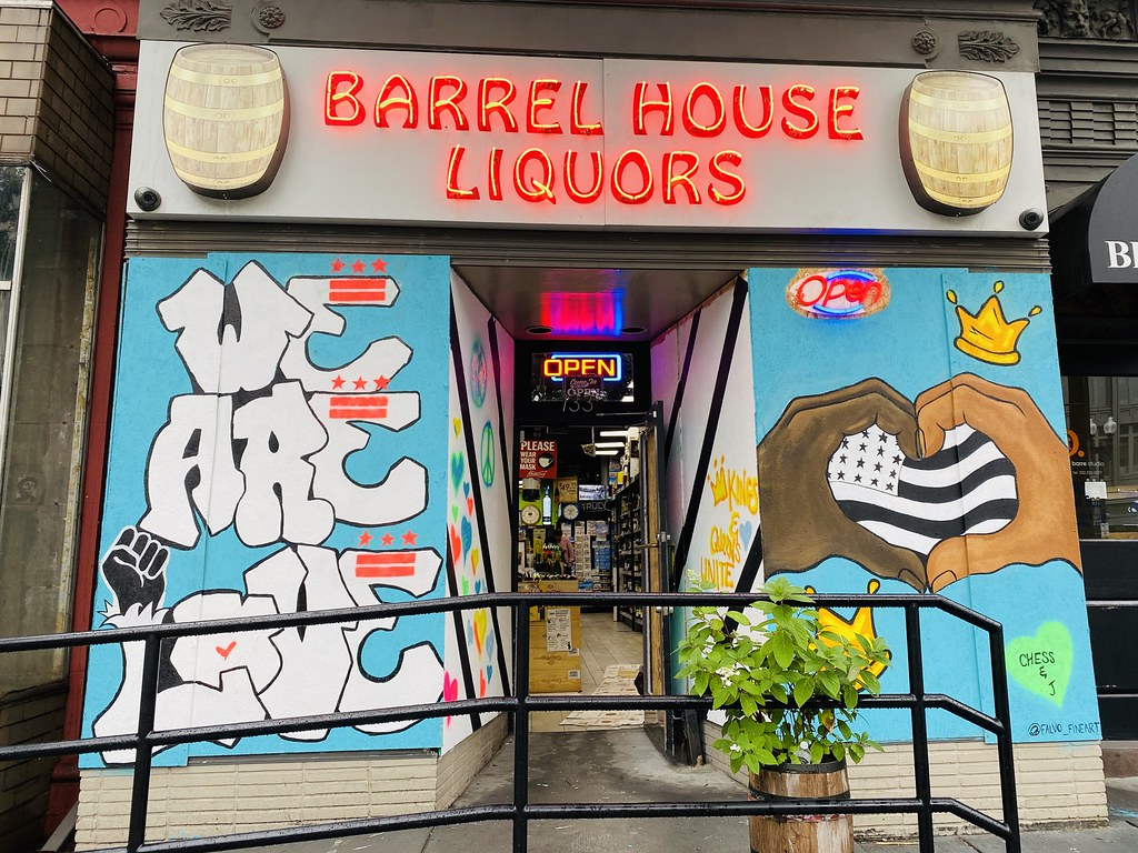 murals at Barrel House