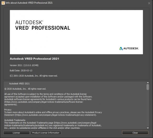 Autodesk VRED Professional 2021 (x64) full license