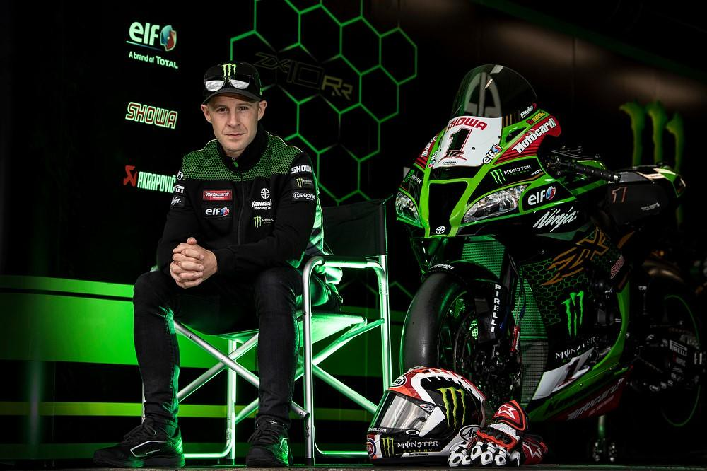 Jonathan Rea with Kawasaki Racing Team