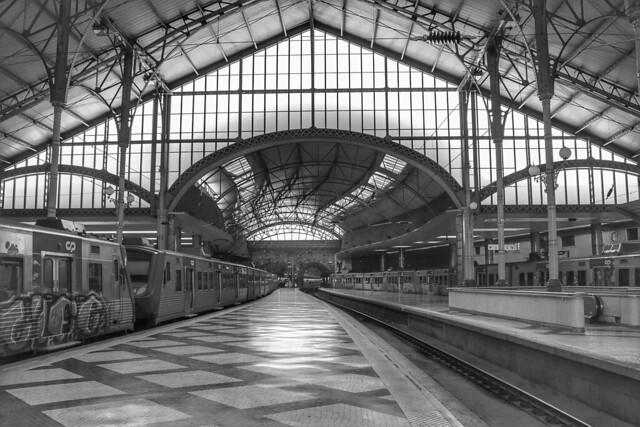 [ Lisbon Central Station ]