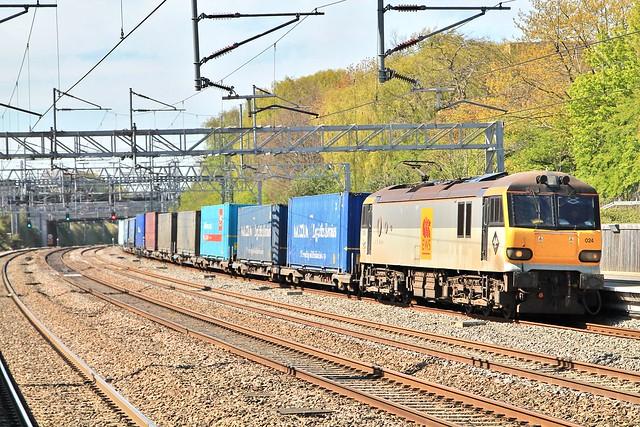 DB Cargo 92024 4M26 Tamworth 16/04/14