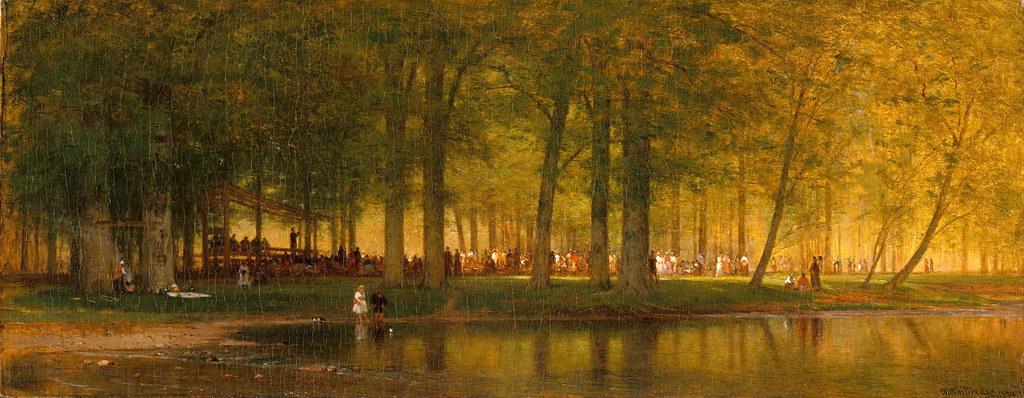 Worthington Whittredge «The Camp Meeting», 1874 г.