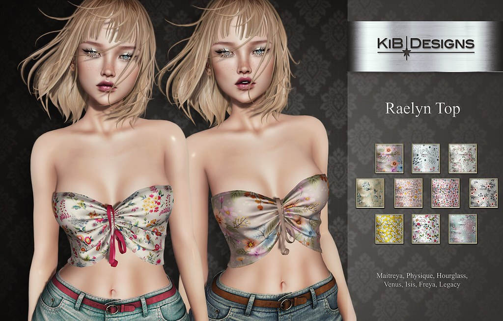 KiB Designs - Raelyn Top @Sense Event