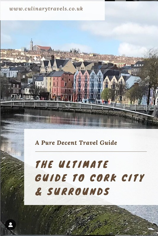 Georgina Ingham | Culinary Travels - The Pure Cork Travel Guide. Pin it for Later. Don't miss out on these top tips! Bookmark for when travelling is the norm again.