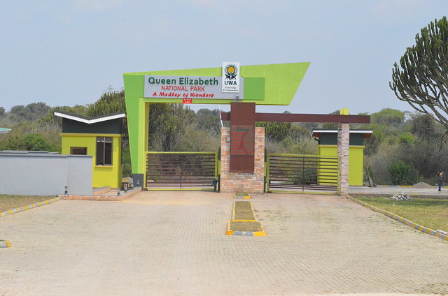 Queen Elizabeth National Park Entrance