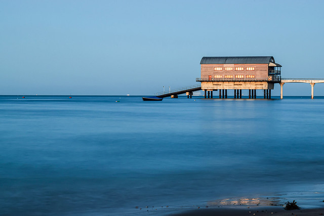 Golden hour + Long exposure + Lifeboat station = Beauty