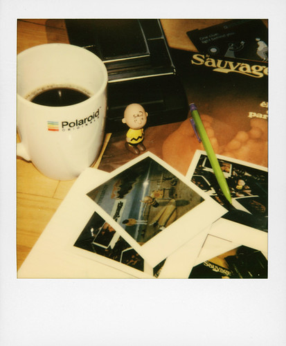 It's just polaroid ...