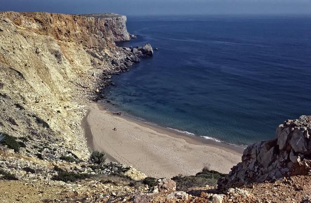 Portugal - Sagres - Praia do Tonel (1977)