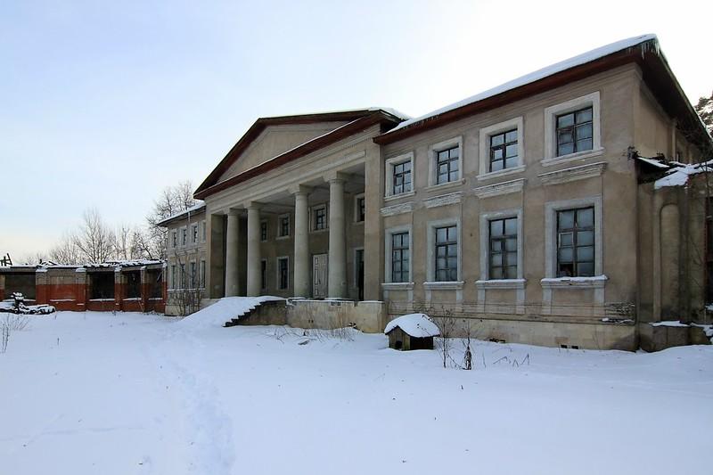Усадьба Никольское-Обольяниново в Подъячево