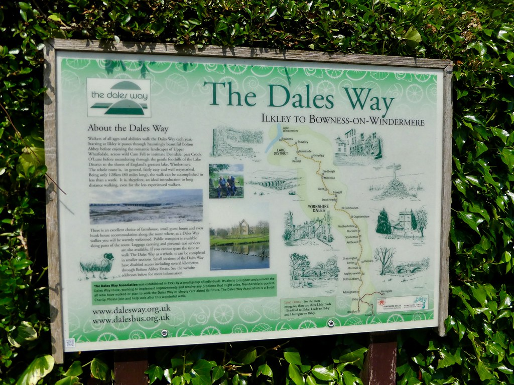 The Dales Way Map