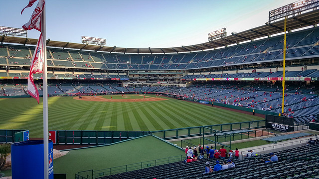 Field at Angels Stadium