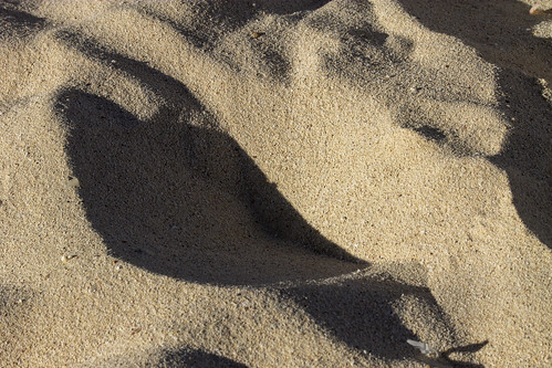 Patterns in the sand, Valentin Imperial Riviera Maya, Mexico