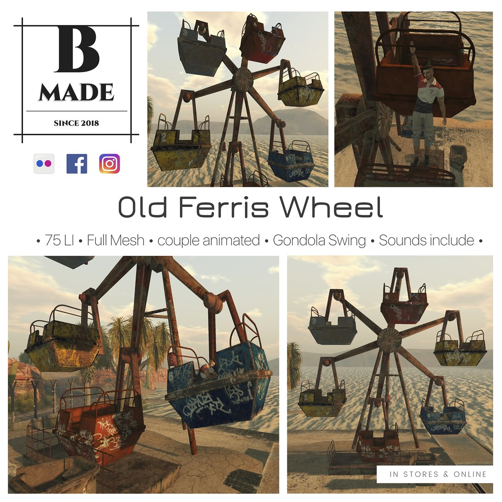 B-Made Old Ferris Wheel