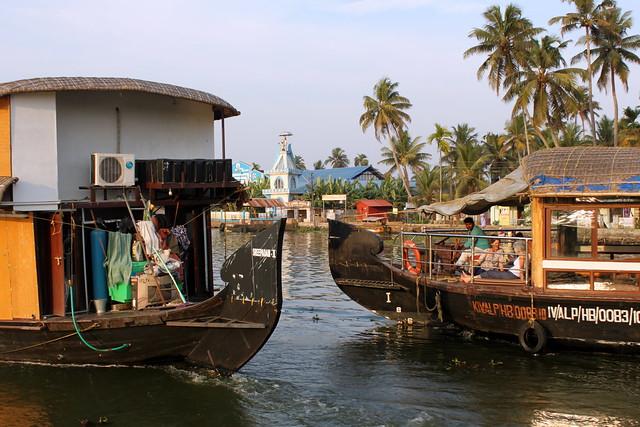 kerala two boats