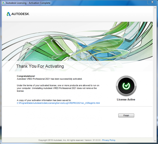 Active Autodesk VRED Professional 2021 (x64) full