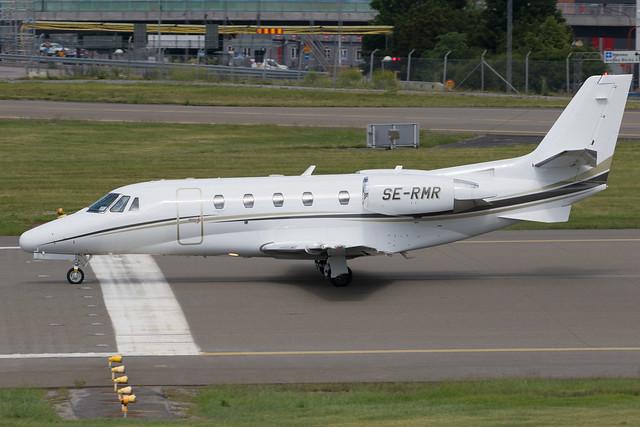 Svenskt Industriflyg  Cessna 560XL Citation Excel SE-RMR 200618 BMA