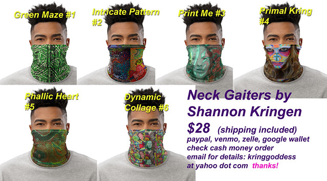 Neck Gaiters by Shannon Kringen 6 designs