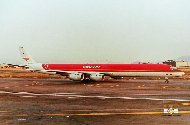 Emery Worldwide / McDonnell Douglas DC-8-73F / N795FT