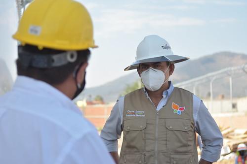 El Presidente Salvador Zamora Realizó un Recorrido por las Obras de Abastecimiento de Agua Potable en Tlajomulco