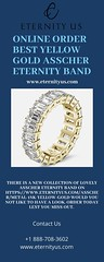Online Order Best Yellow Gold Asscher Eternity Band - www.eternityus.com