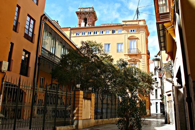 Trasera del Palau de Batlia - València
