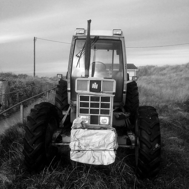 Fisherman's Tractor at Caister