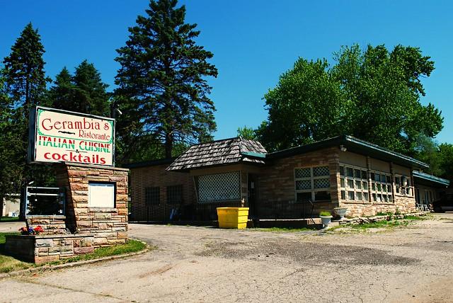 Former Gerambia's Ristorante & Blue Top Motel, Pell Lake Wisconsin