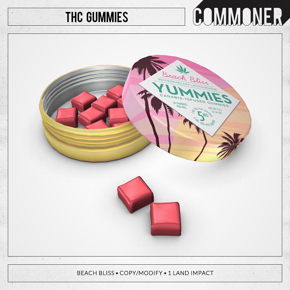 [Commoner] THC Gummies