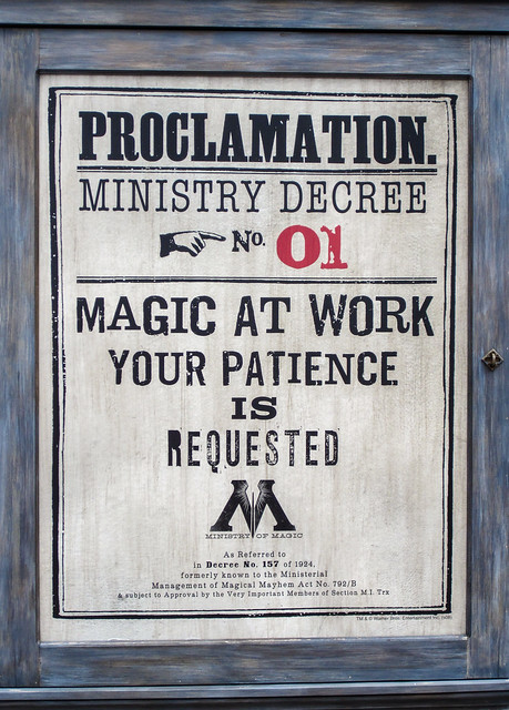Ministry Decree No. 01:  Magic At Work