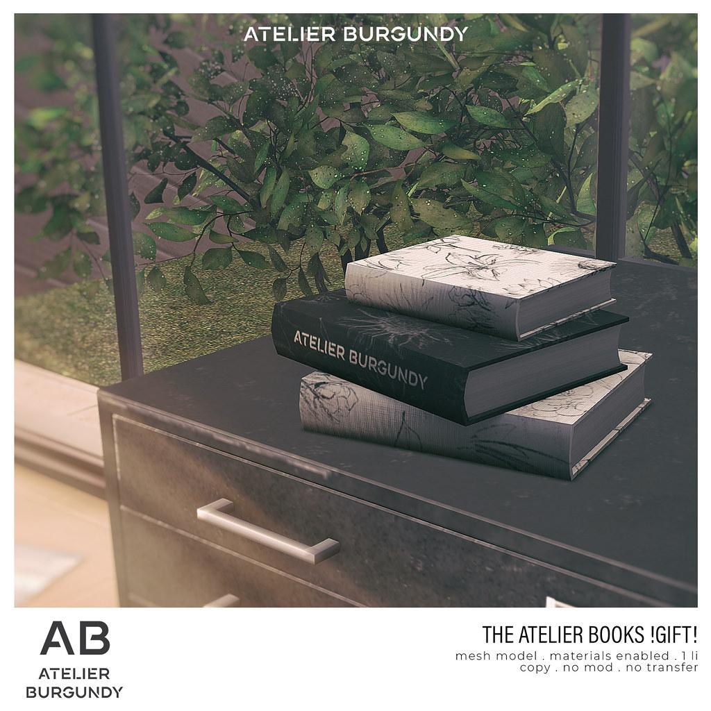Atelier Burgundy . The Atelier Books GIFT