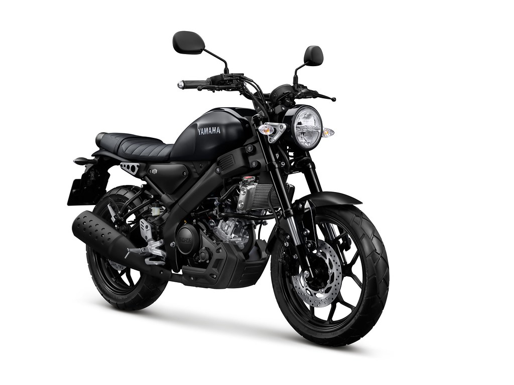 All New XSR 155 Matte Black Elegance