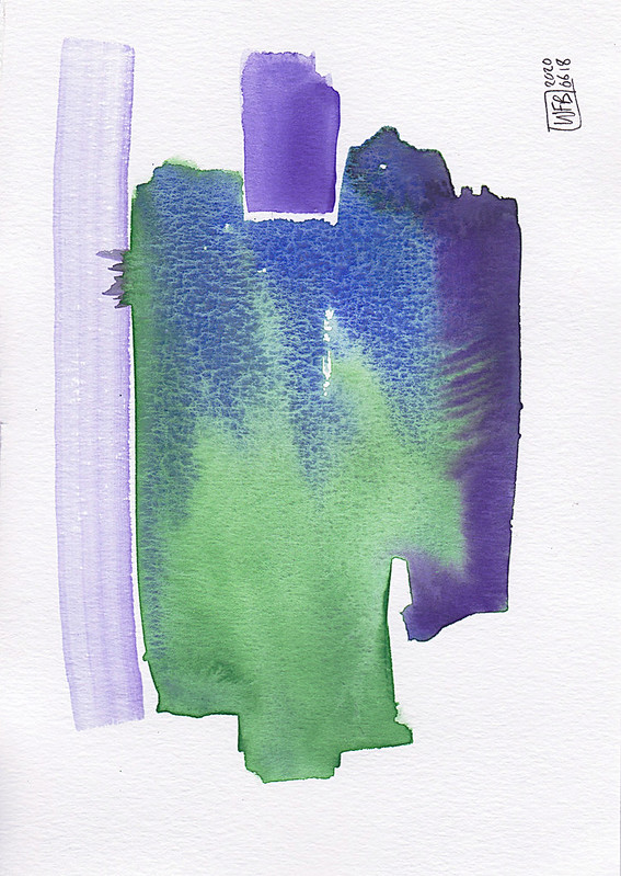 Violet Green Ultramarine