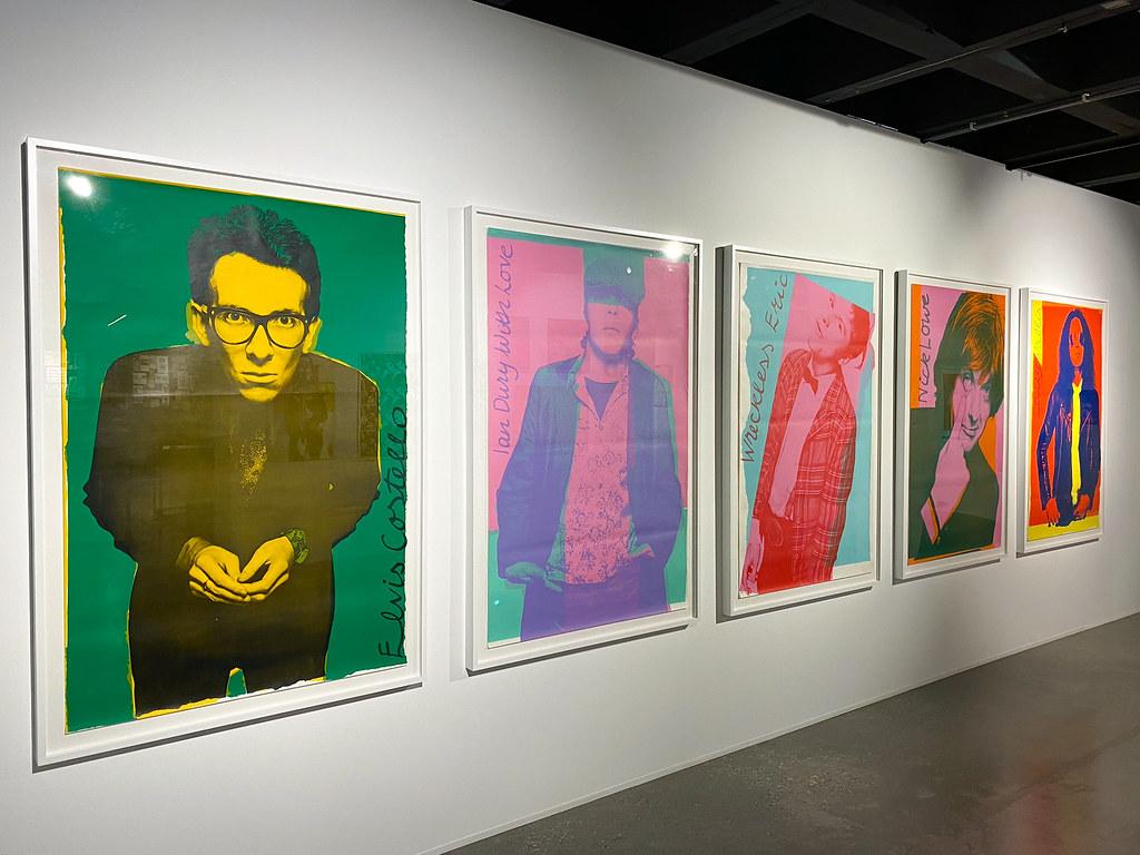 Andy Warhol inflence on Punk art