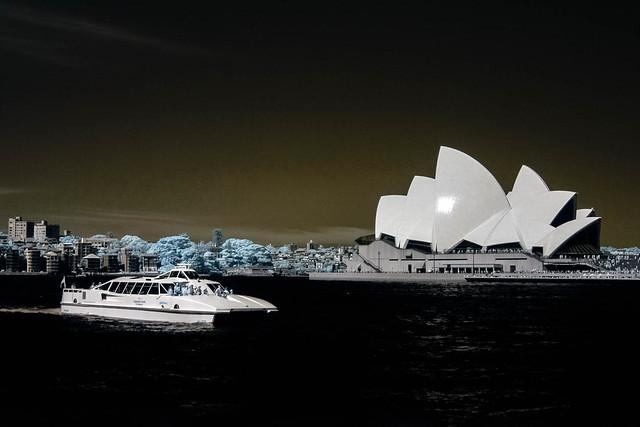Sydney Opera House Infrared 2016