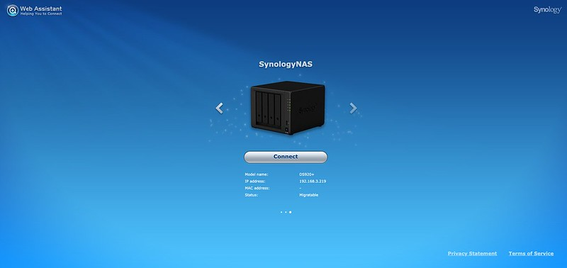 Synology Web Assistant - #1