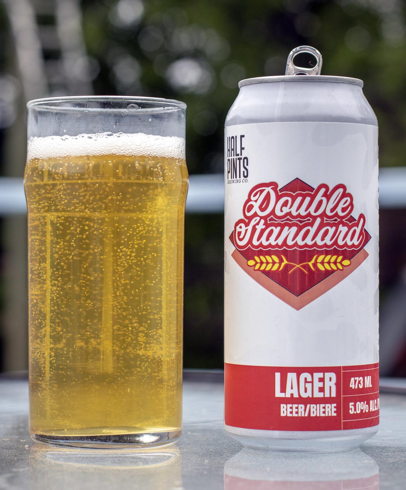Half Pints Double Standard Lager