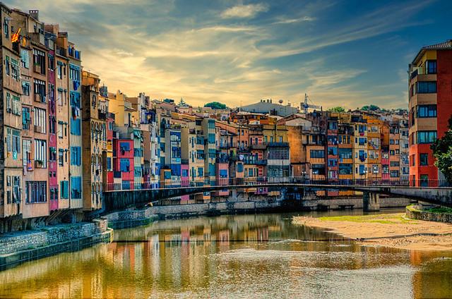 Girona - Río Onyar
