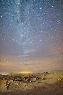APEX, el desierto y la noche