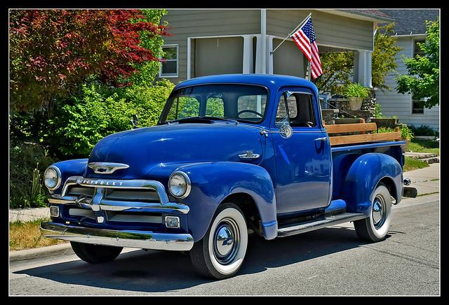 Farmer Mike's 1955 Chevrolet 3100 Pickup