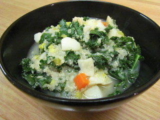 Quinoa, White Bean, and Kale Stew