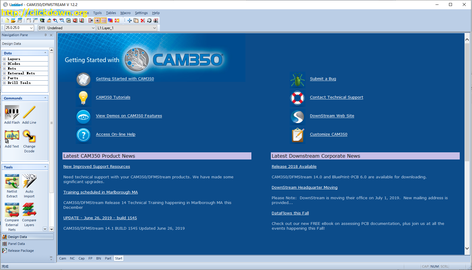 Working with DownStream 2016 CAM350 v12.2 full