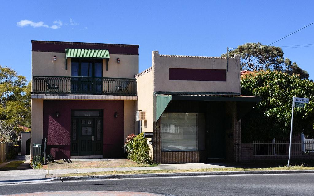 Former Shops, Carlton, Sydney, NSW.