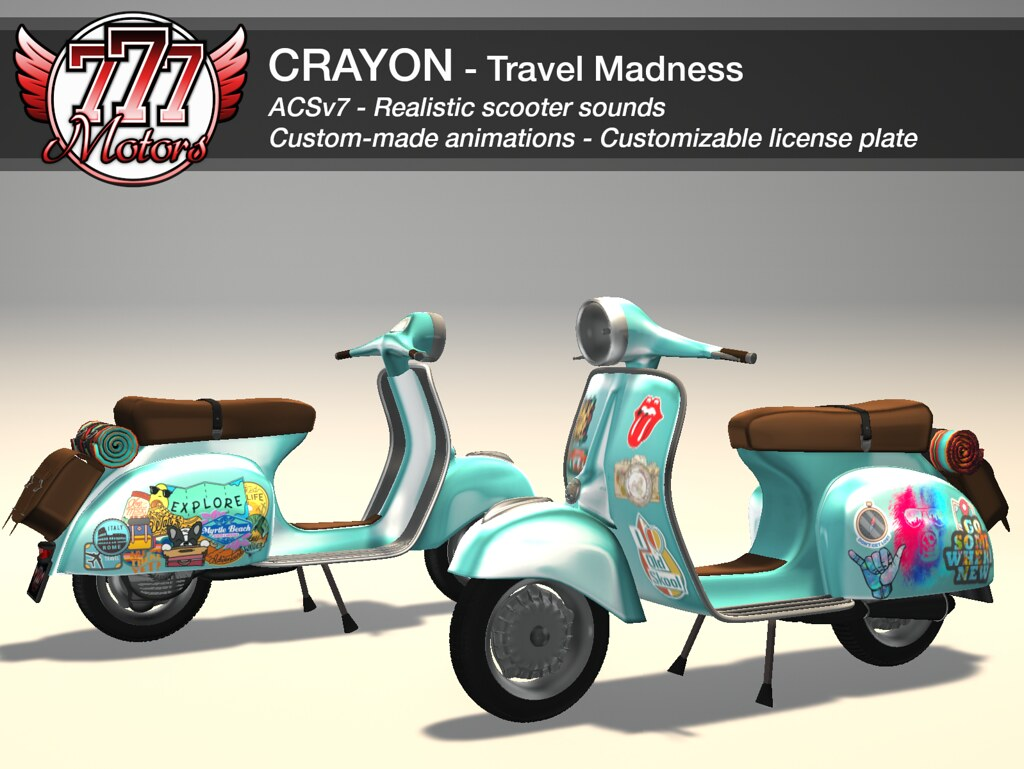 [777] Crayon – Travel Madness