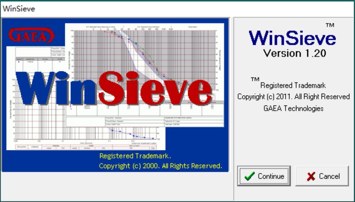 GAEA Winsieve 1.20 full license