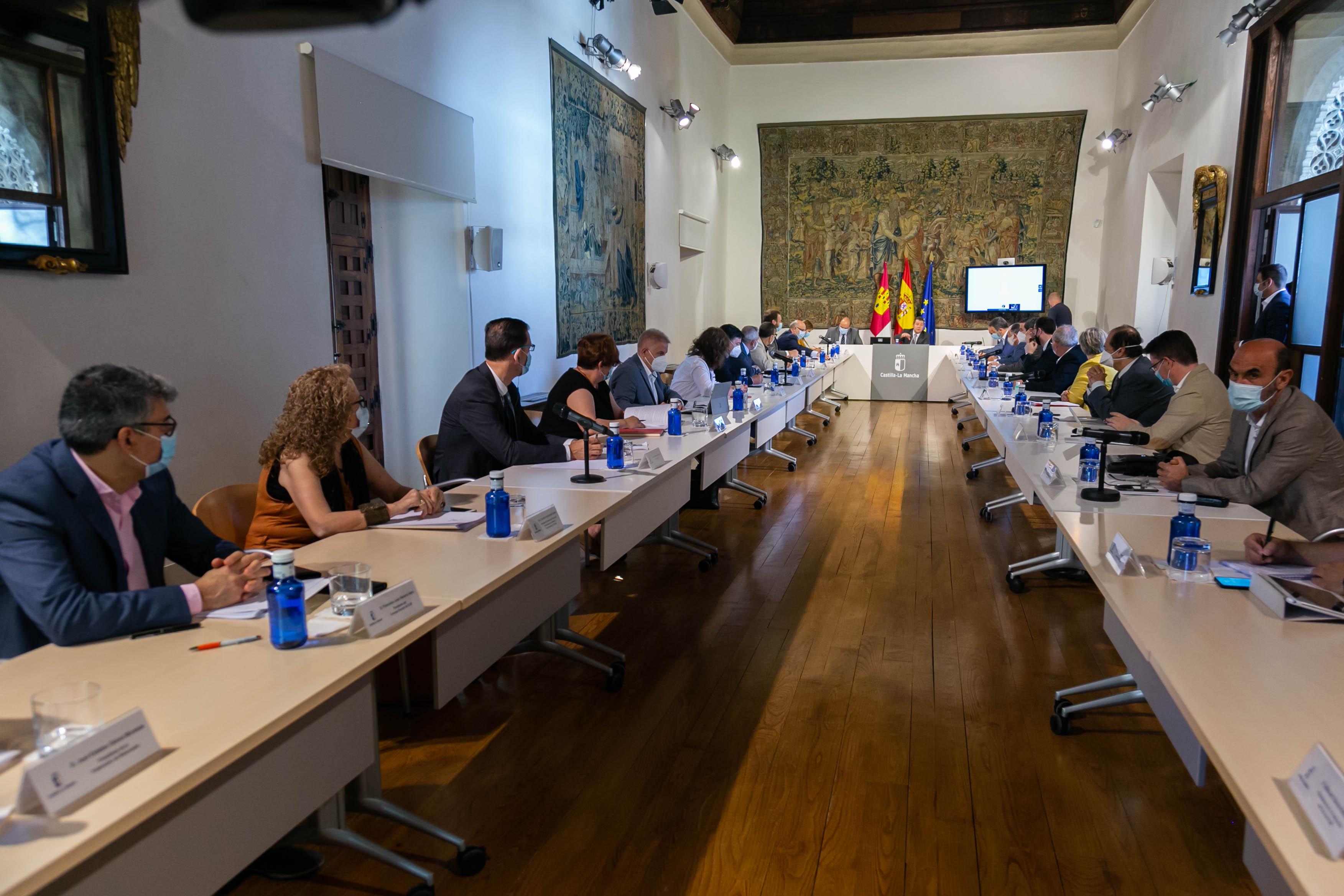 Consejo Social para la transición frente al COVID-19