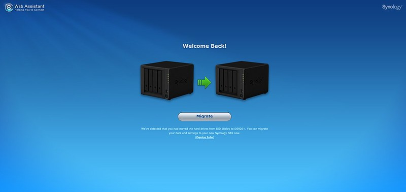 Synology Web Assistant - #2